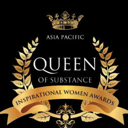 asi pacific queen of substance logo